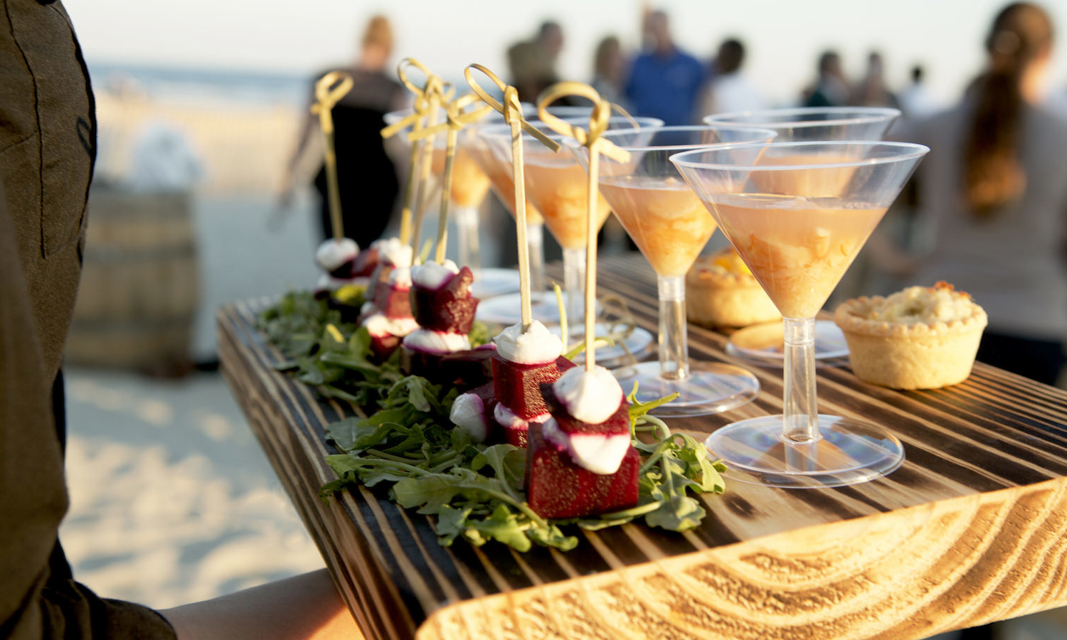 Catering on the Beach