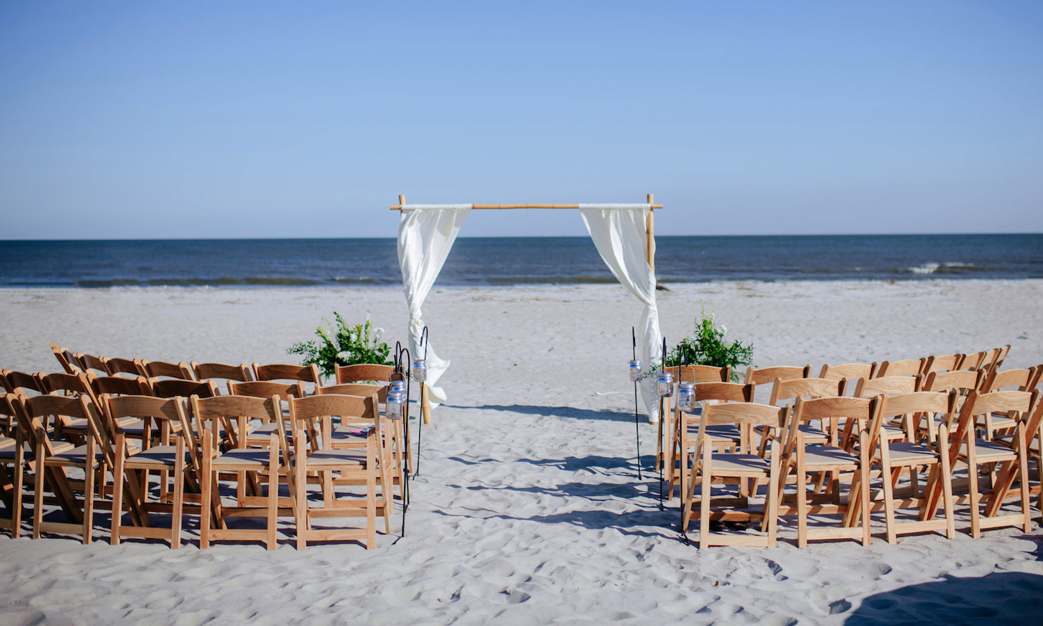 Altar and Ceremony on the Beach