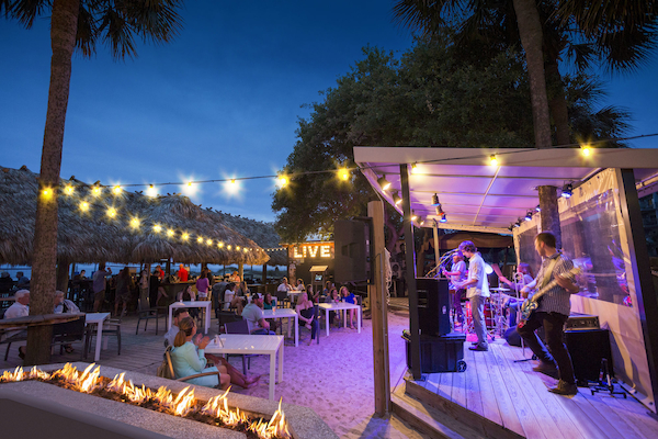 Nightly Live Music on the Tiki Stage