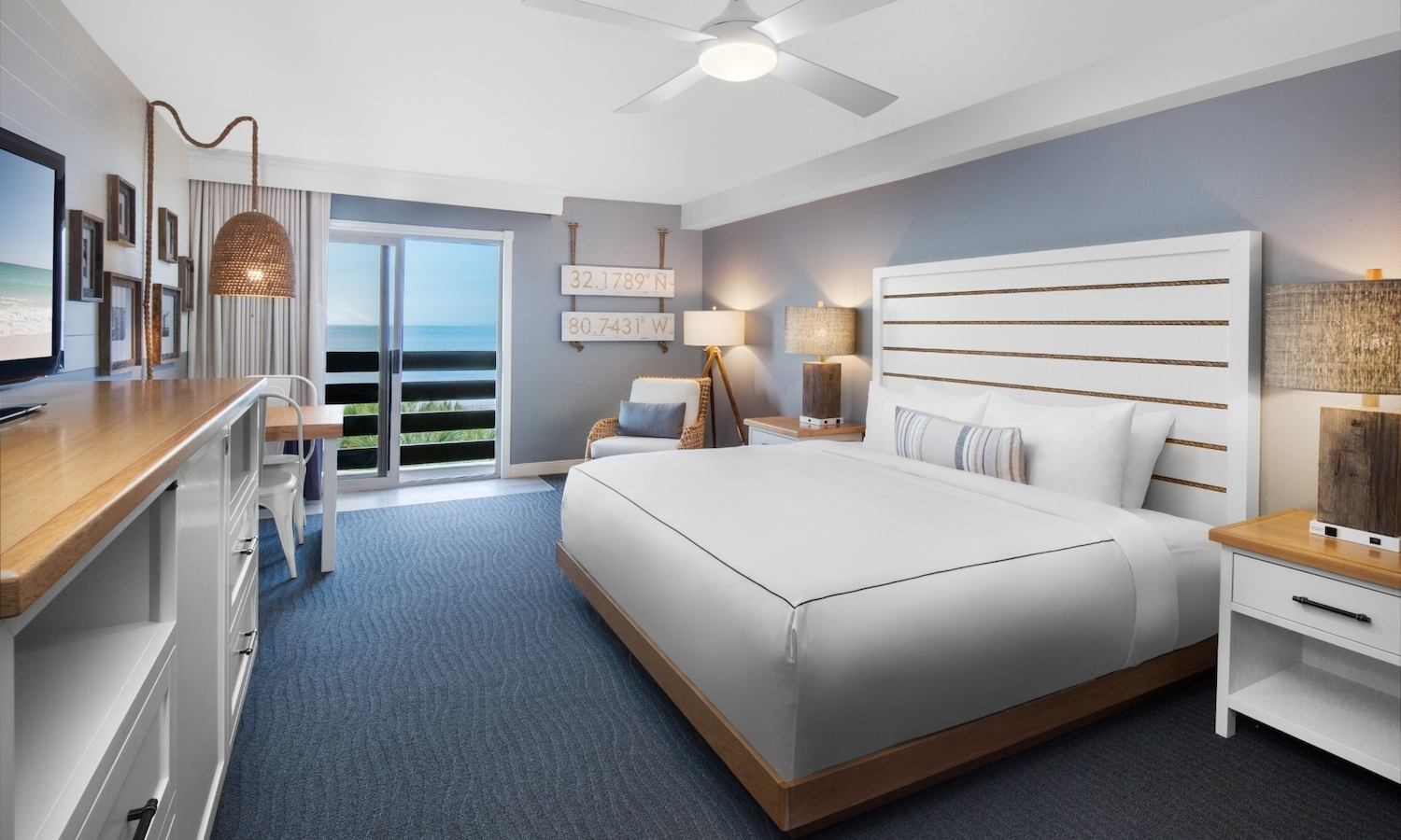 Ocean View King Guestroom